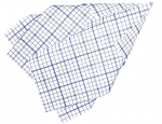 Outdoor-Geschirrtuch 5er Pack,<br>bluesquare,<br> 50 x 57 cm